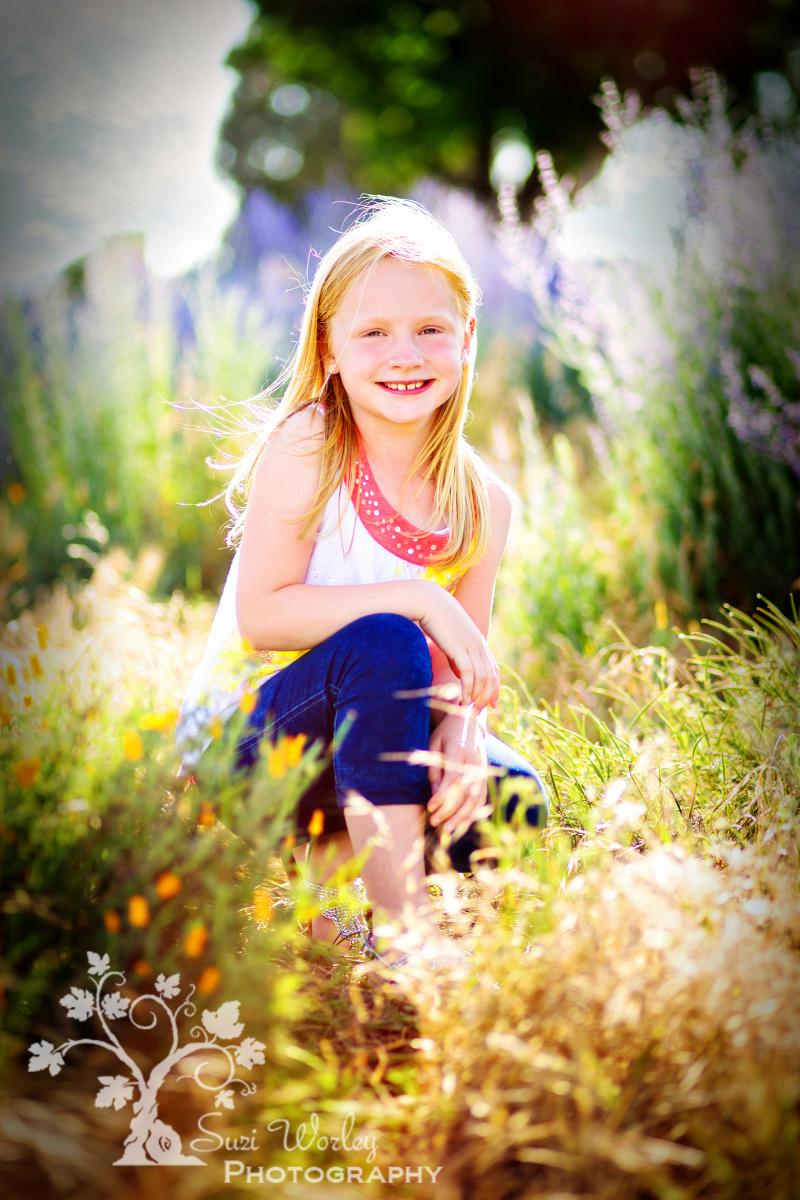 A day in the park.  #flowers #girl #summersession #SuziWorleyPhotography