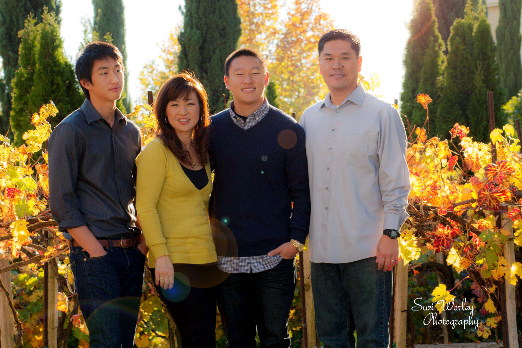 Fall harvest family session. #Grapevines #family #boys #SuziWorleyPhotography